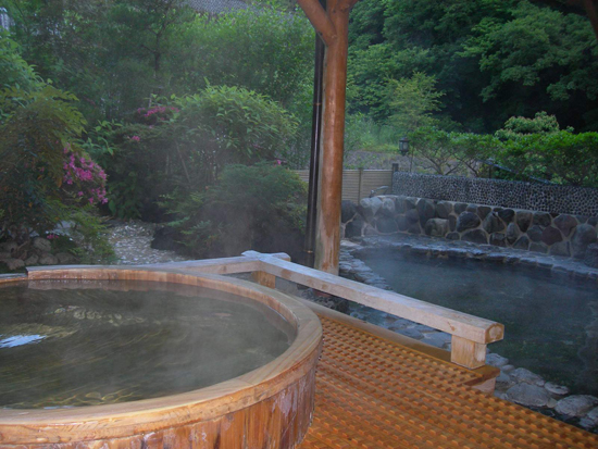 Baños Termales Japon:Onsen in Hakone Japan Hot Spring