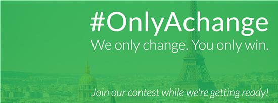 Concurso Instagram: Seguir adelante #OnlyAChange