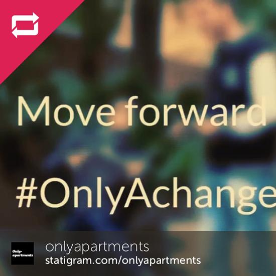 …y todo esto con #OnlyAchange