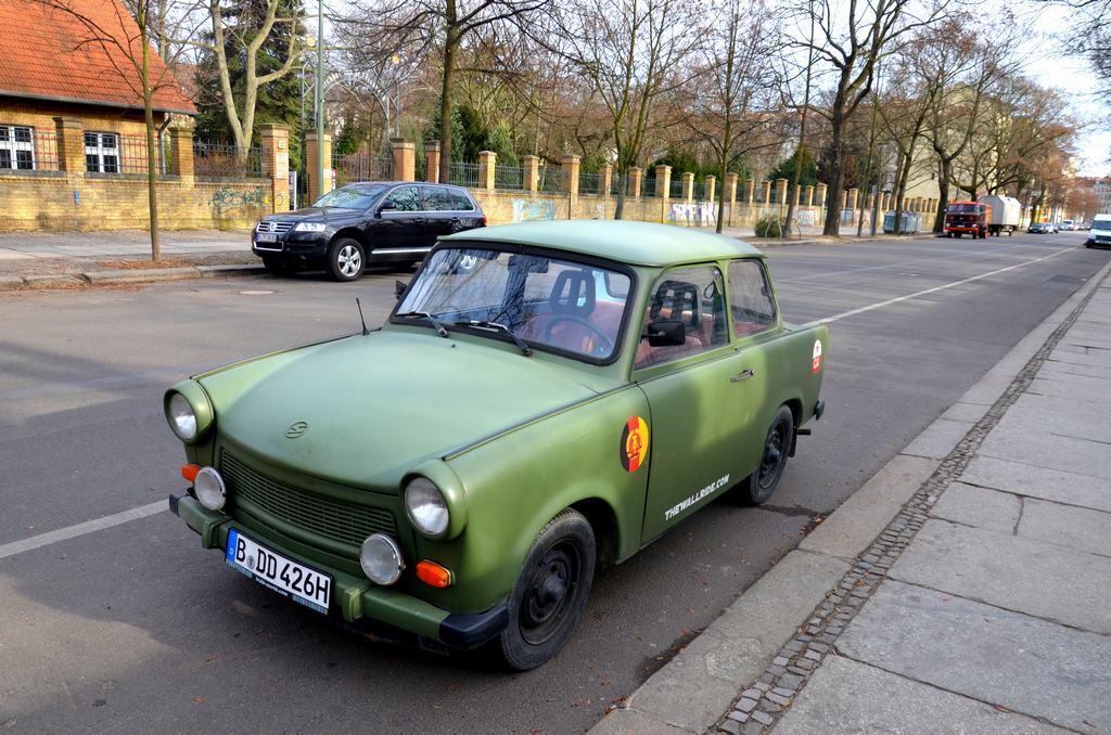 Trabi Tour, Conducir un Trabant en Berlín