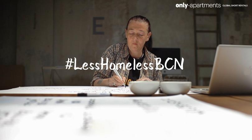#LesshomelessBCN