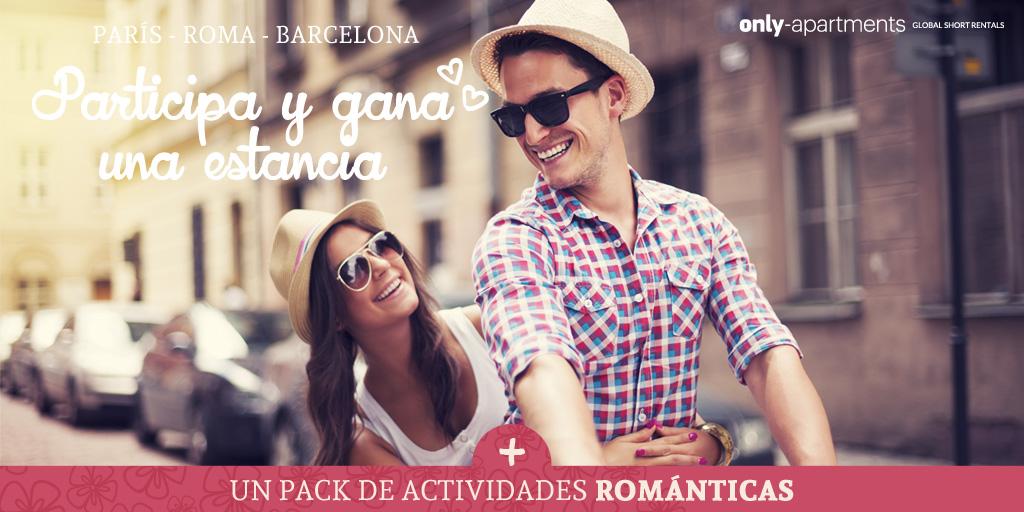 Sorteo San Valentín: gana una estancia + un pack romántico